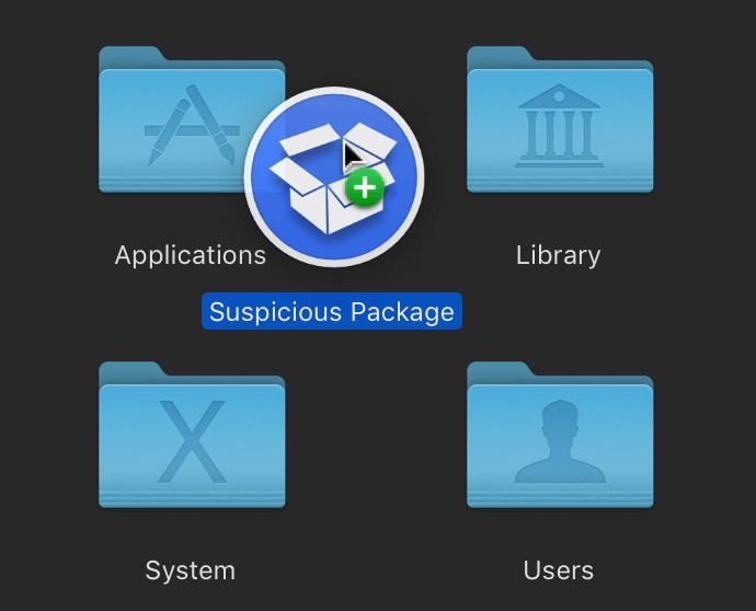 Suspicious Package / Подозрительный пакет